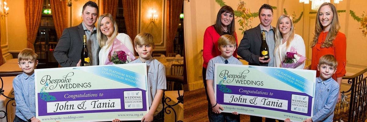 Ringwood Hall Hotel Derbyshire- Tania & John
