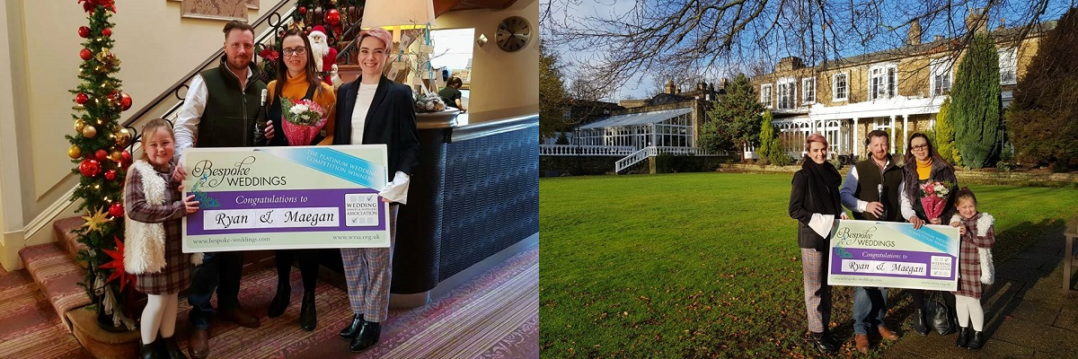 competition winners at Ringwood Hall