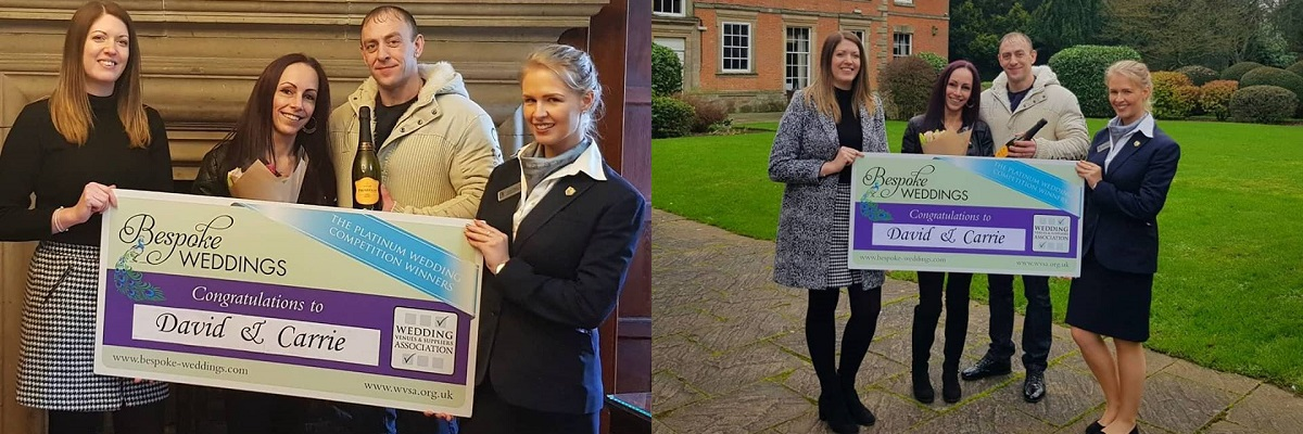 BESPOKE COMPETITION WINNERS AT MACDONALD ANSTY HALL