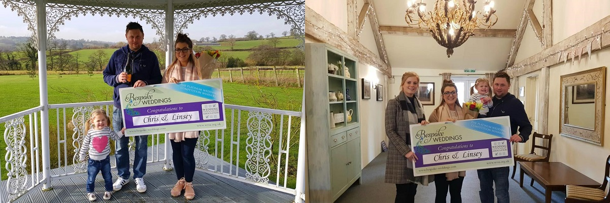 Bespoke Competition Winners at Shottle Hall Coach House Marquee