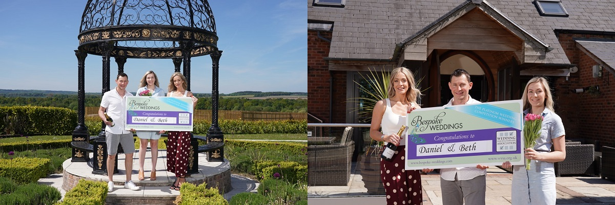 Goosedale Bespoke Weddings Competition winners