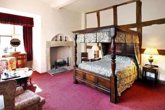 Madeley Court Bedroom