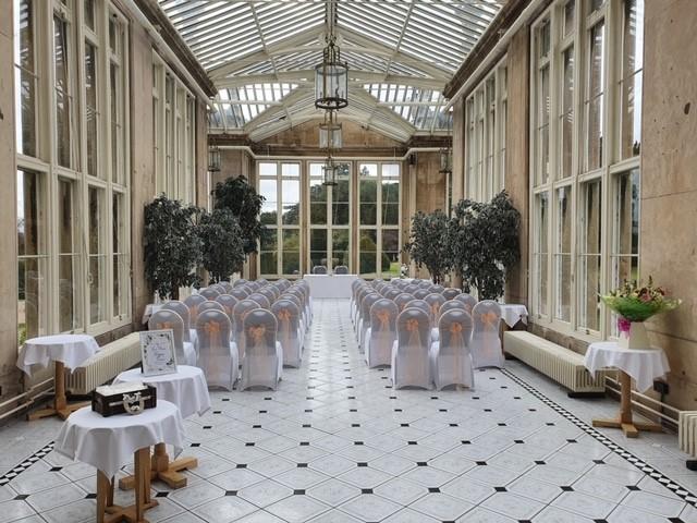 Jessica & Liam Stoke Rochford Hall 1
