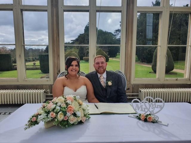 Jessica & Liam Stoke Rochford Hall