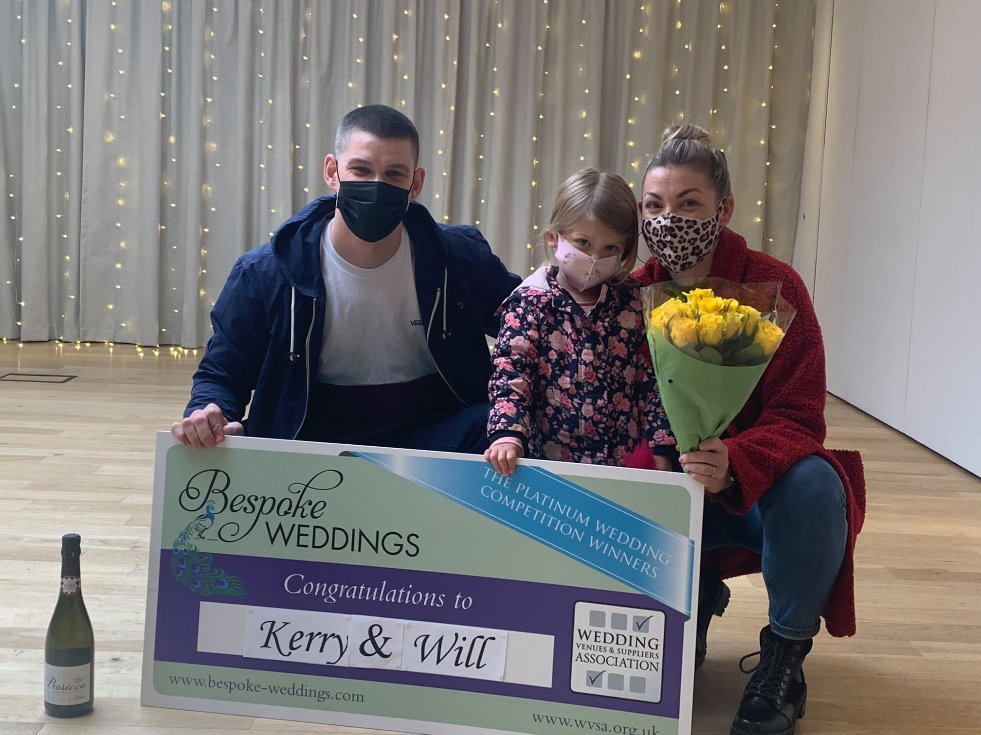Kerry & Will - Moddershall Oaks - Cheque Presentation 13