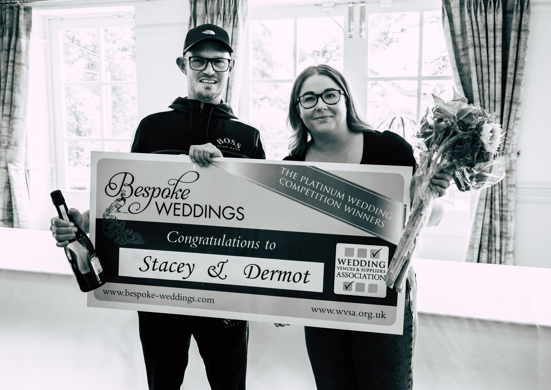 Stacey & Dermot - The Farmhouse - Cheque Presentation 6