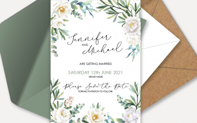 Wedding Stationery: The first glimpse into your wedding theme and colours